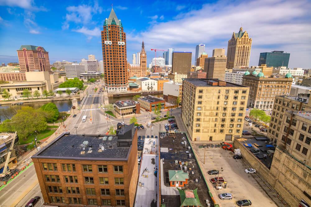 Downtown Milwaukee WI