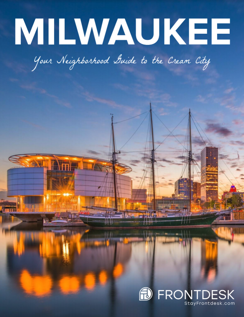 Visitors Guide Book to Milwaukee WI