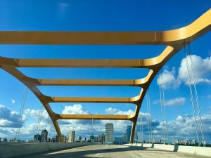 Hoan Bridge in Milwaukee Wisconsin