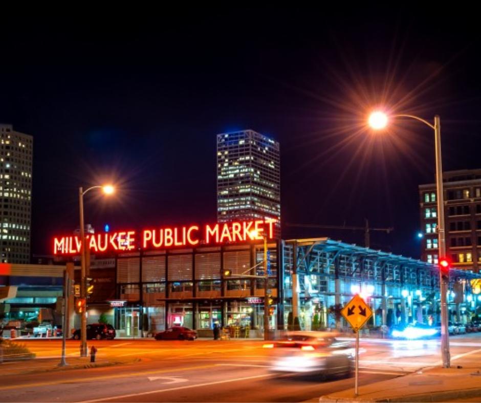 Historic Third Ward in Milwaukee Wisconsin