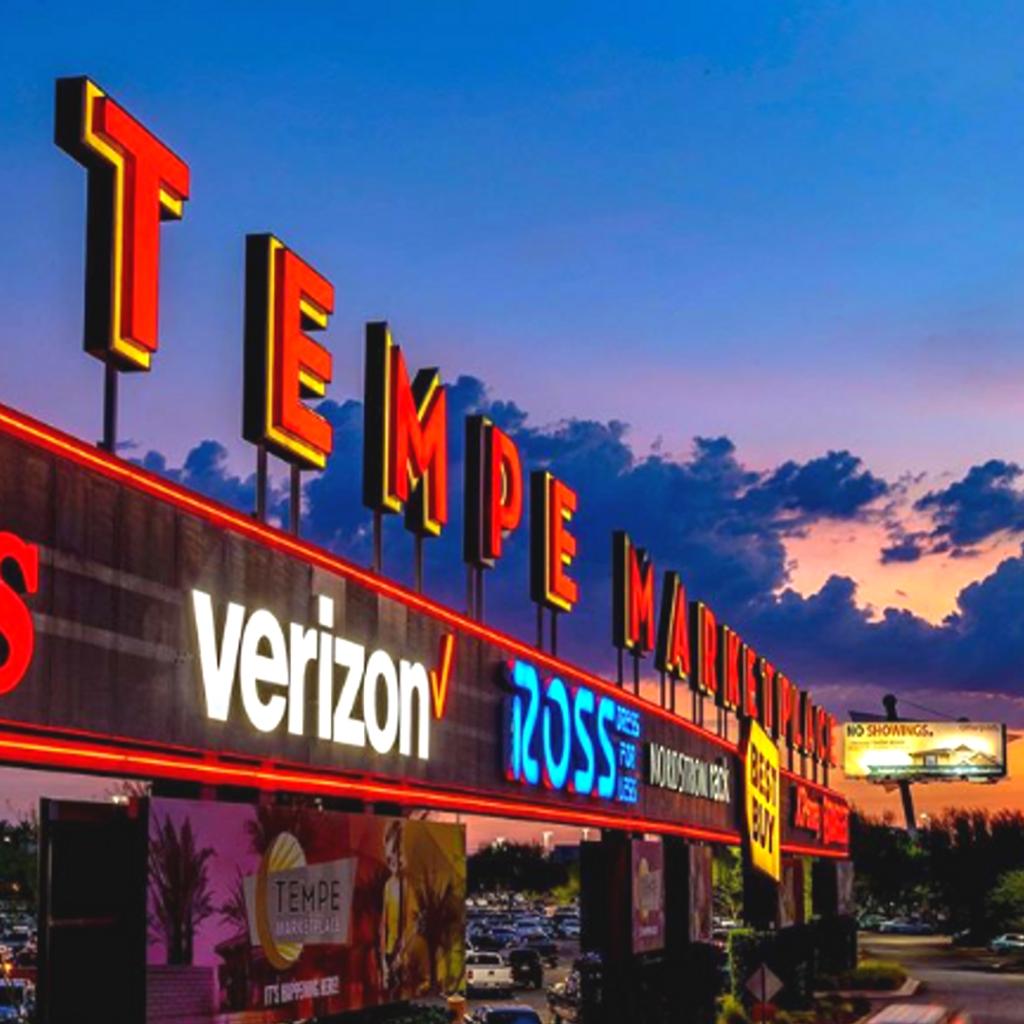 Tempe Marketplace in Arizona