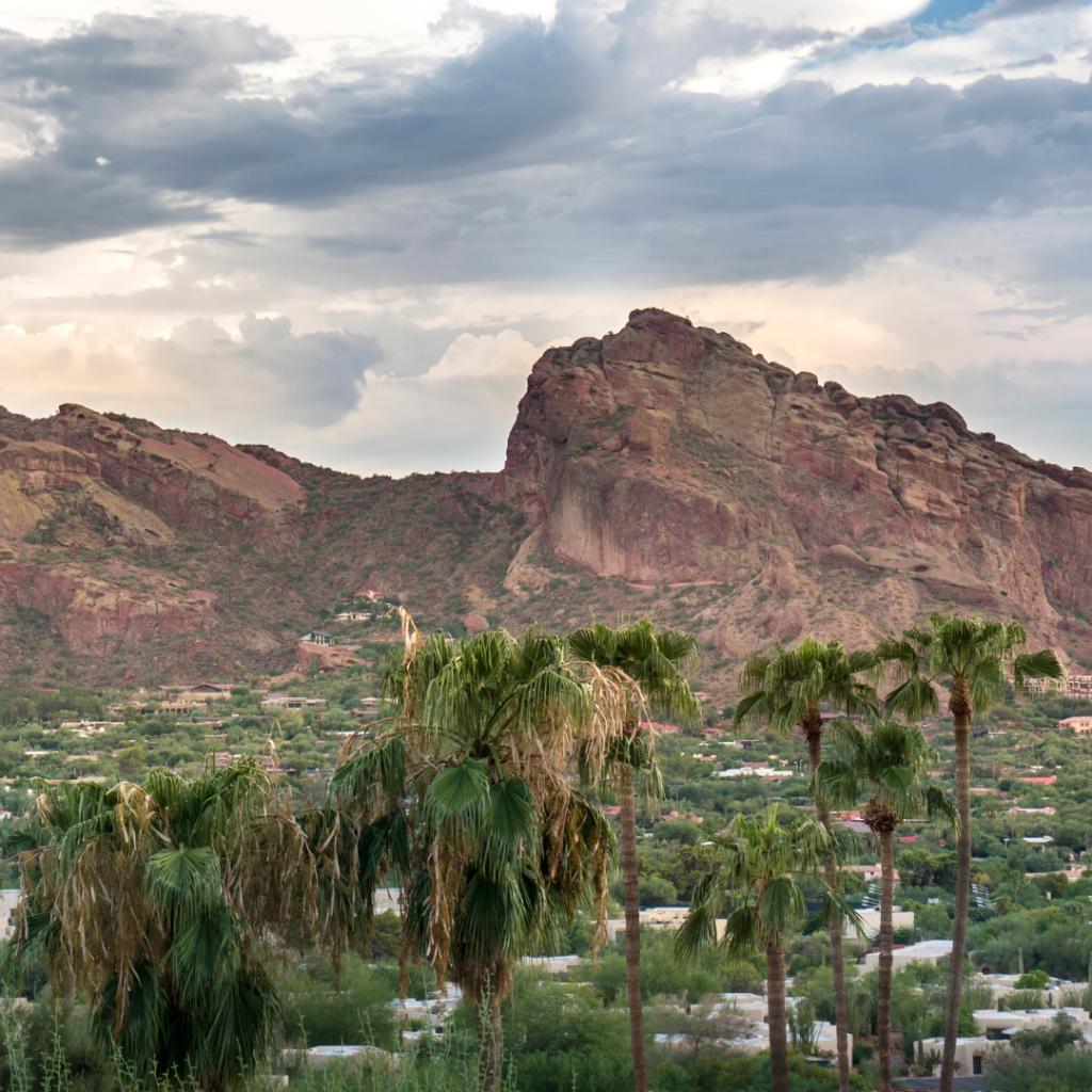 Camelback Mountain in Phoenix Arizona