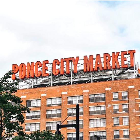 Ponce City Market in Atlanta Georgia